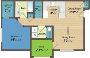 One bedroom apartment Provo UT