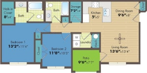 2 bedroom apartment Provo UT